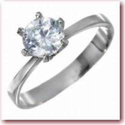 立爪ダイヤモンドリング